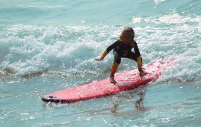 surfing kid activities